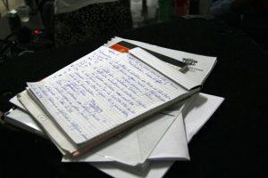 Der Notizblock ist immer noch wichtig für lebendige Eindrücke, echte Gefühle und korrekte Aussagen.