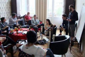 Auslandsrecherche in Georgien 2017 zusammen mit georgischen Journalisten.