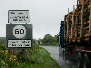 Grenzübergang Irland / Nordirland bei Pettigo