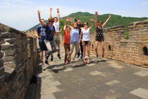 Die Schüler*innen reisen im Rahmen der Ausbildung nach Moskau, Shanghai, Peking oder London.